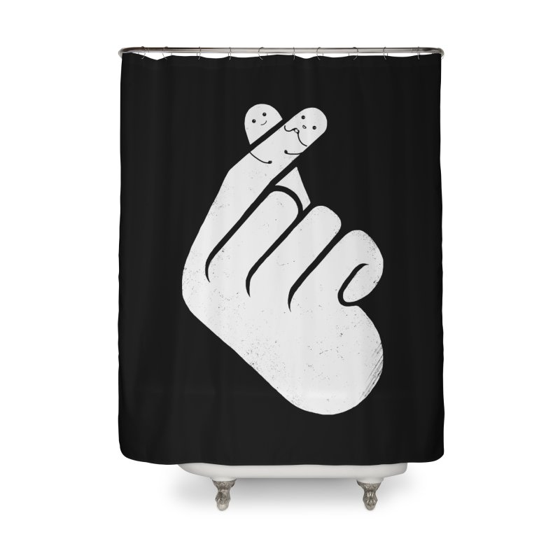 I Heart You! Home Shower Curtain by mitchdosdos's Shop