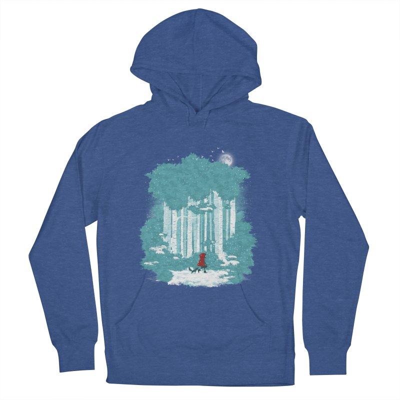 Winter Walk Men's Pullover Hoody by mitchdosdos's Shop