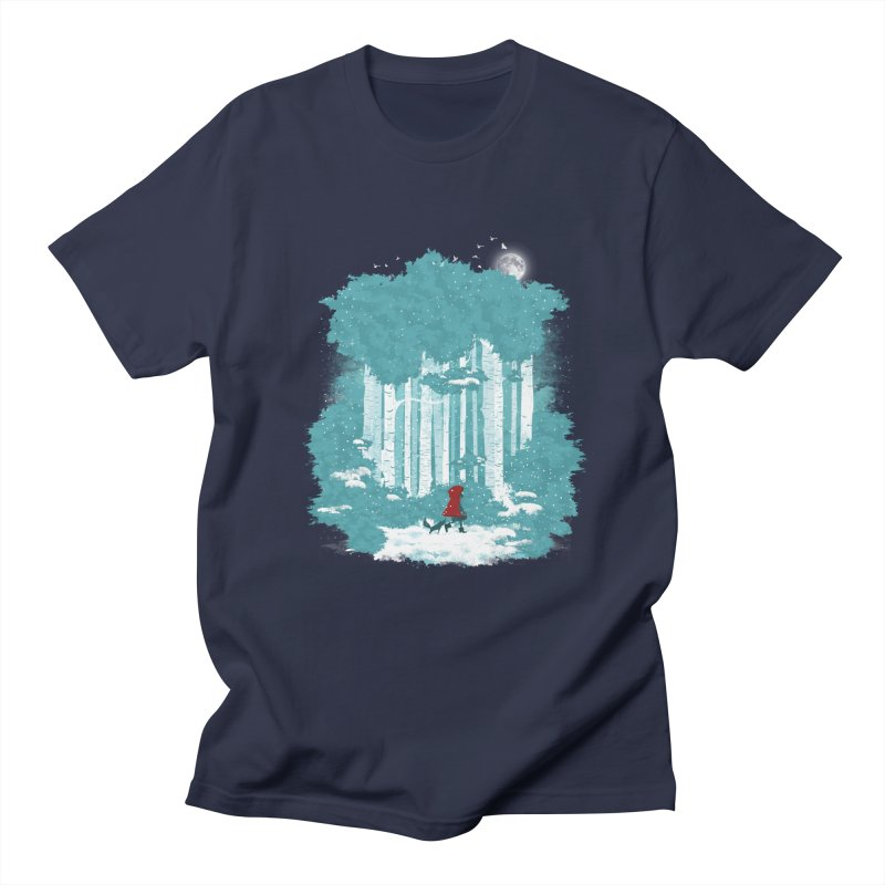 Winter Walk Women's Unisex T-Shirt by mitchdosdos's Shop