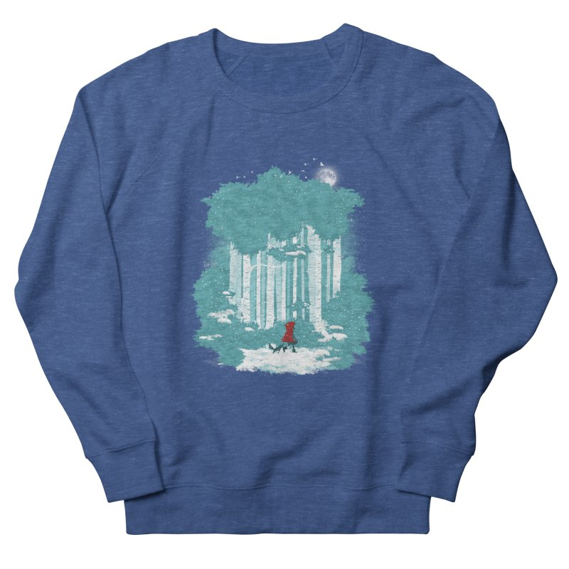 Winter Walk Women's Sweatshirt by mitchdosdos's Shop