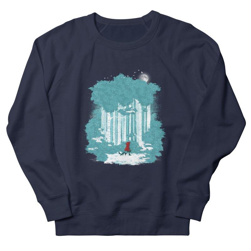 Winter Walk Men's Sweatshirt by mitchdosdos's Shop