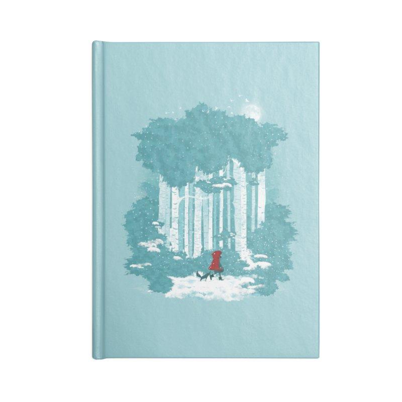 Winter Walk Accessories Notebook by mitchdosdos's Shop