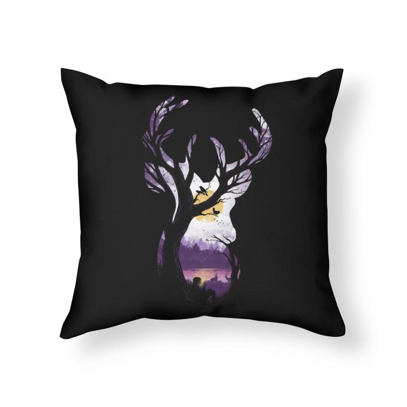 Serenity Home Throw Pillow by mitchdosdos's Shop
