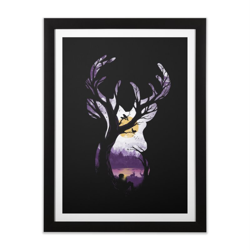 Serenity Home Framed Fine Art Print by mitchdosdos's Shop