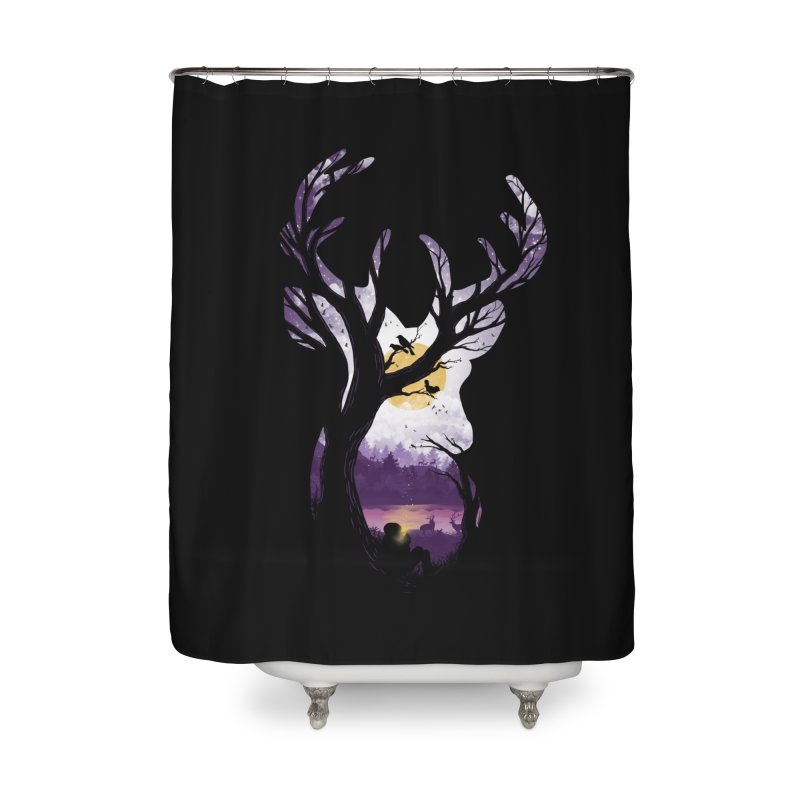 Serenity Home Shower Curtain by mitchdosdos's Shop