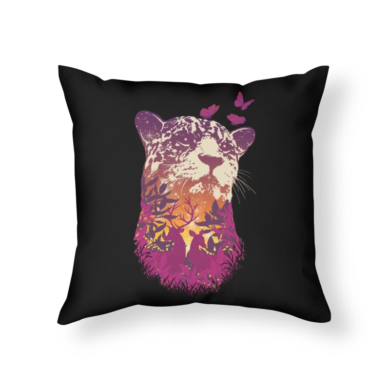 Spring Hunter Home Throw Pillow by mitchdosdos's Shop