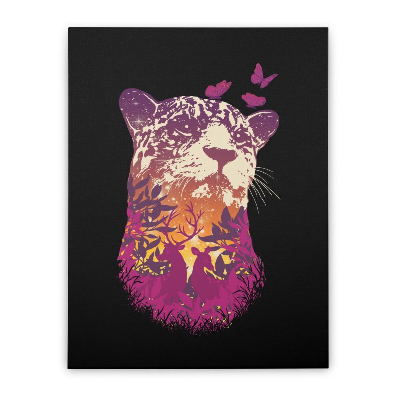 Spring Hunter Home Stretched Canvas by mitchdosdos's Shop