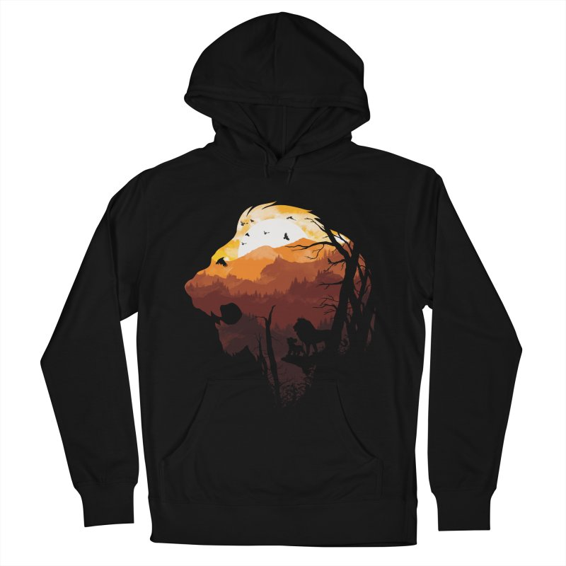 king Of The Pride Lands Women's Pullover Hoody by mitchdosdos's Shop