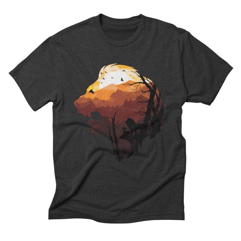 king Of The Pride Lands Men's Triblend T-Shirt by mitchdosdos's Shop