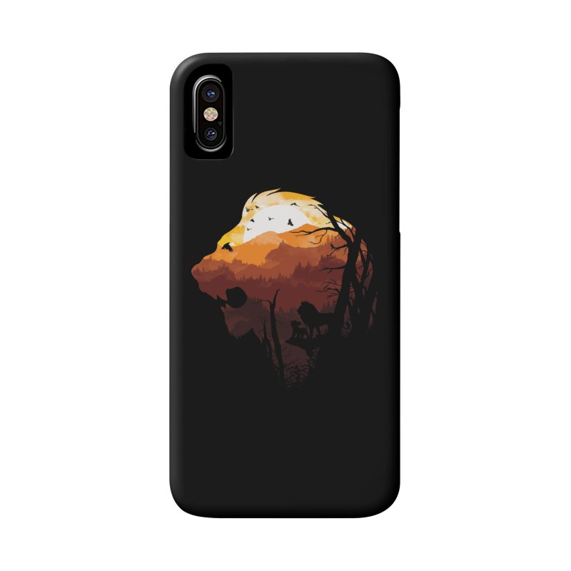 king Of The Pride Lands Accessories Phone Case by mitchdosdos's Shop
