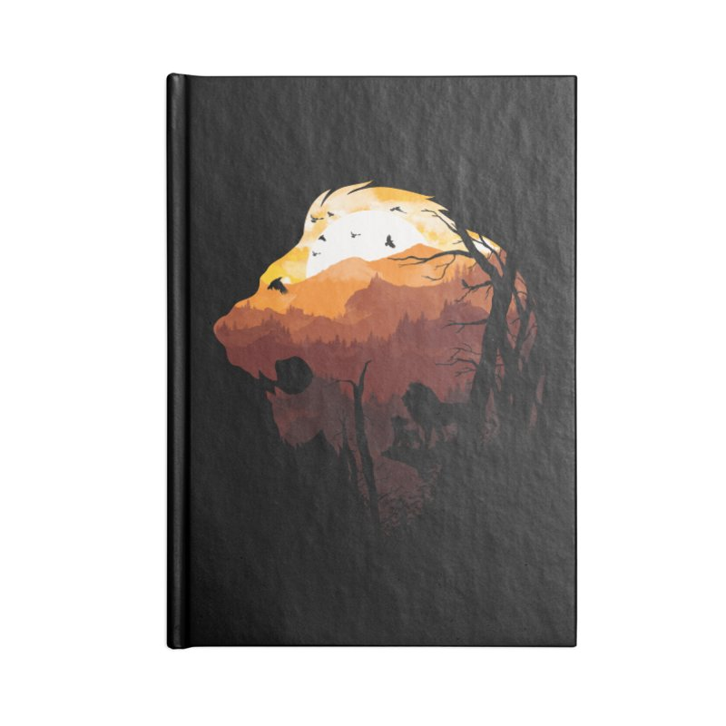 king Of The Pride Lands Accessories Notebook by mitchdosdos's Shop