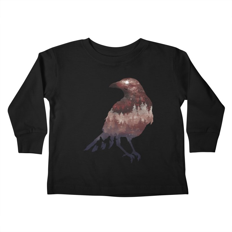 Messenger Of Death Kids Toddler Longsleeve T-Shirt by mitchdosdos's Shop