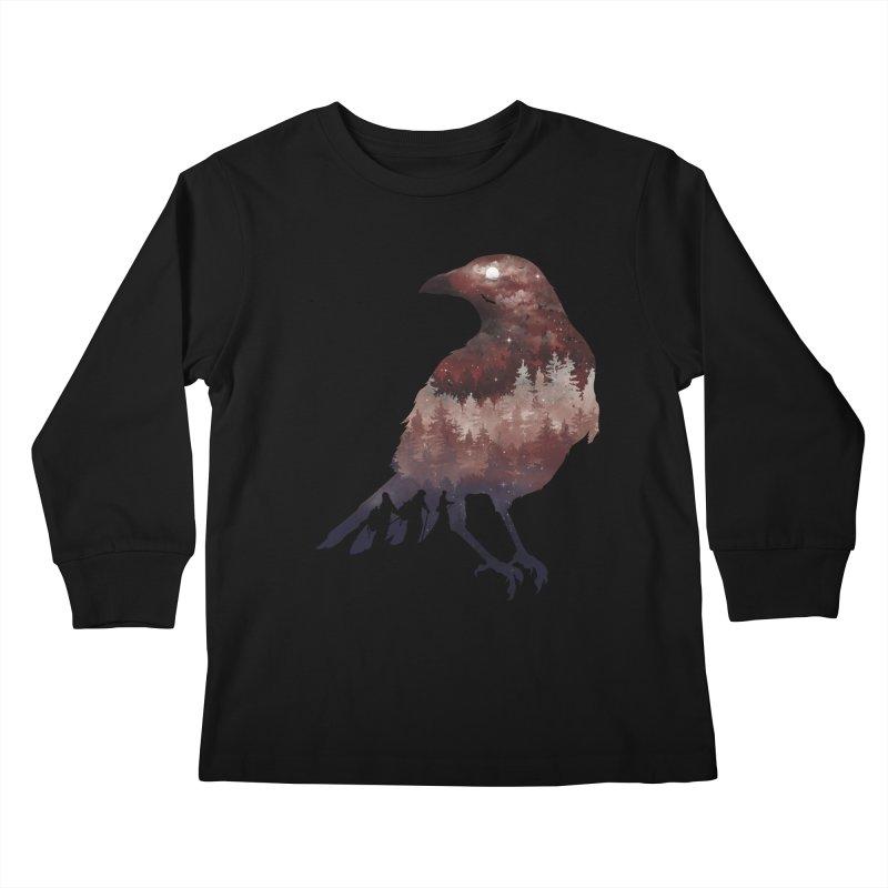 Messenger Of Death Kids Longsleeve T-Shirt by mitchdosdos's Shop