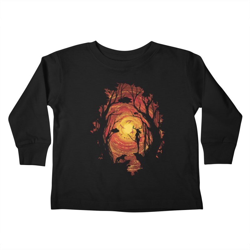 Sacrality Kids Toddler Longsleeve T-Shirt by mitchdosdos's Shop
