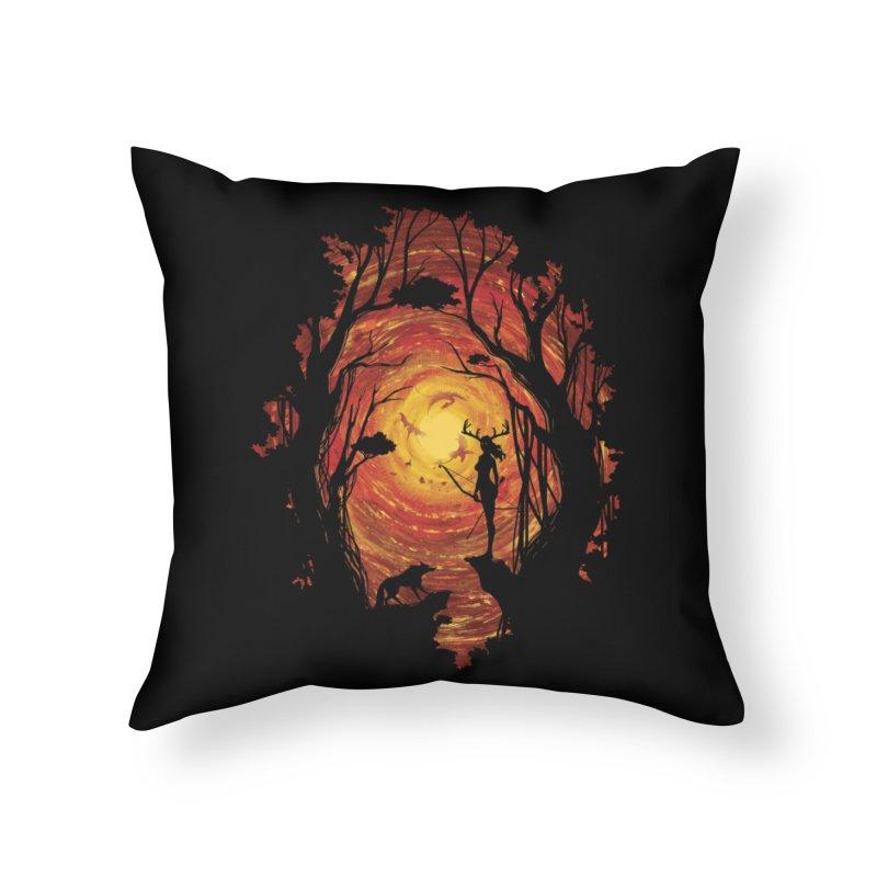 Sacrality Home Throw Pillow by mitchdosdos's Shop