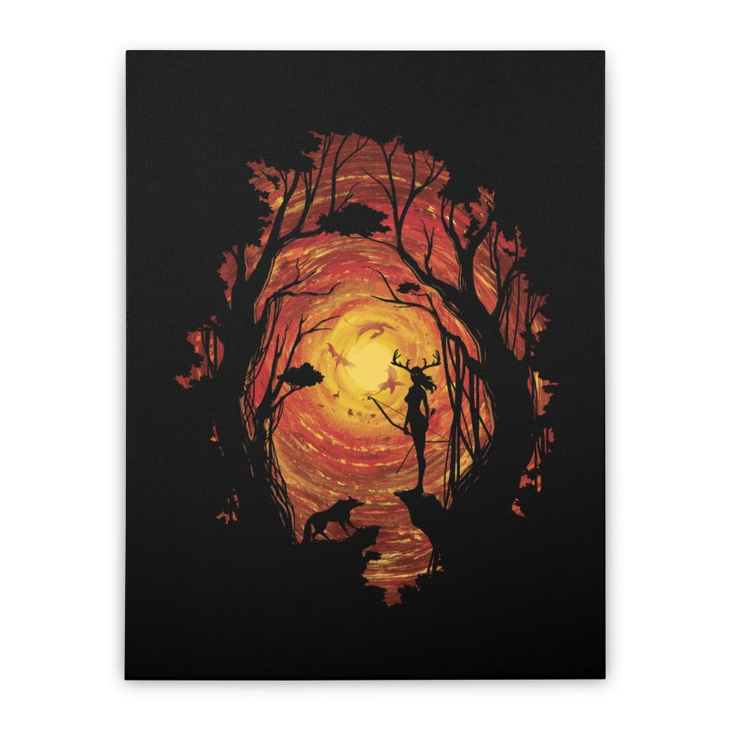 Sacrality Home Stretched Canvas by mitchdosdos's Shop