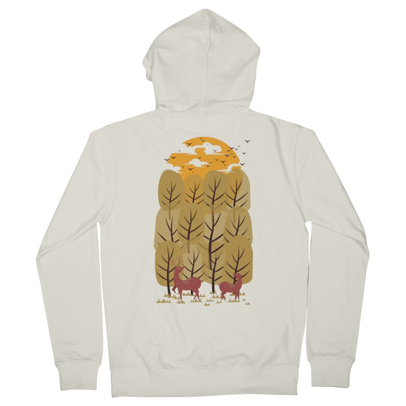 Scenery Men's Zip-Up Hoody by mitchdosdos's Shop