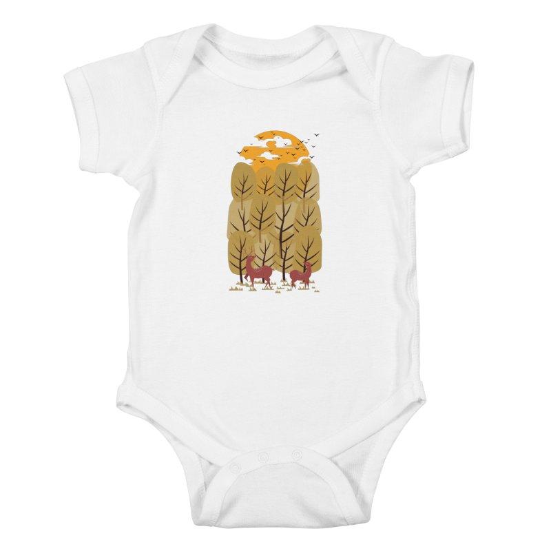 Scenery Kids Baby Bodysuit by mitchdosdos's Shop