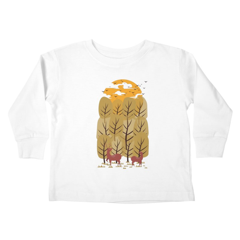 Scenery Kids Toddler Longsleeve T-Shirt by mitchdosdos's Shop