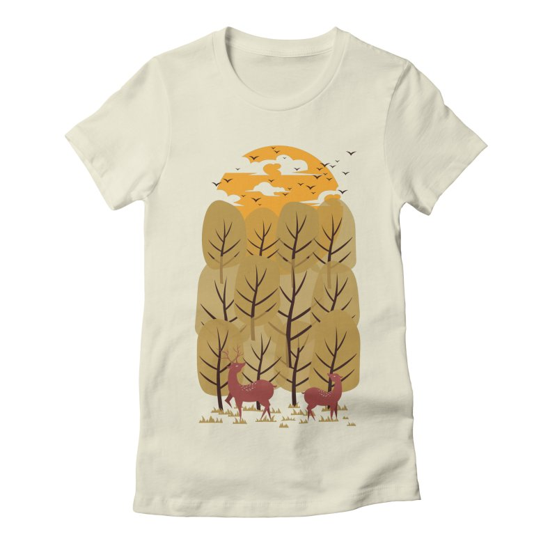 Scenery Women's Fitted T-Shirt by mitchdosdos's Shop
