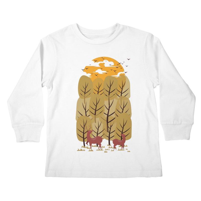 Scenery Kids Longsleeve T-Shirt by mitchdosdos's Shop