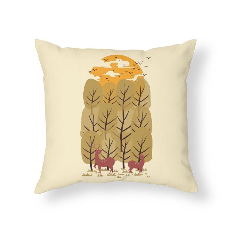 Scenery Home Throw Pillow by mitchdosdos's Shop