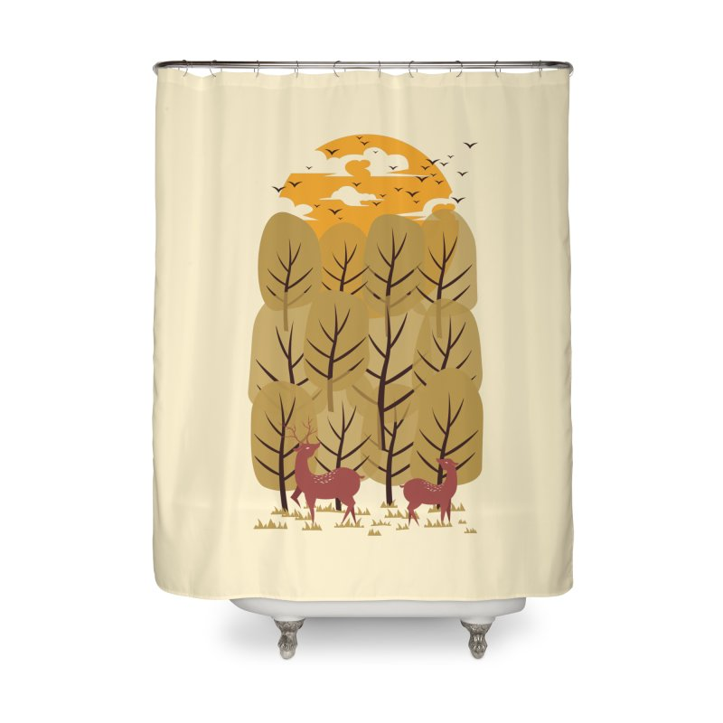 Scenery Home Shower Curtain by mitchdosdos's Shop