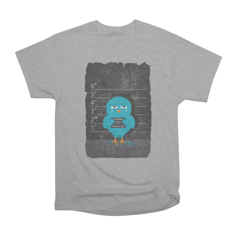 Illegal Twitter Women's Heavyweight Unisex T-Shirt by mitchdosdos's Shop