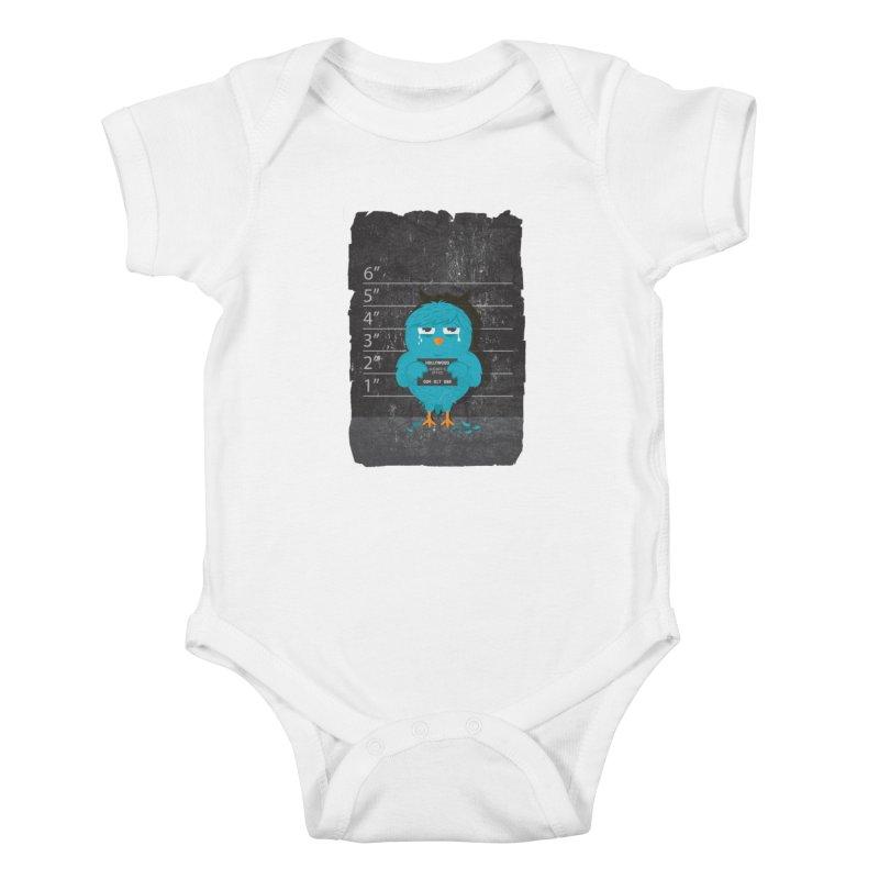 Illegal Twitter Kids Baby Bodysuit by mitchdosdos's Shop