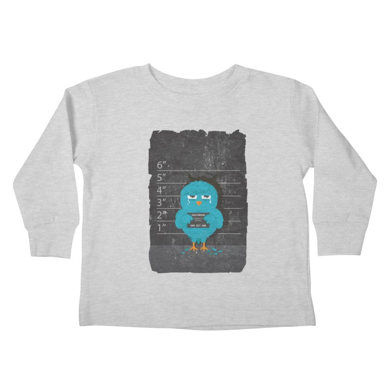 Illegal Twitter Kids Toddler Longsleeve T-Shirt by mitchdosdos's Shop