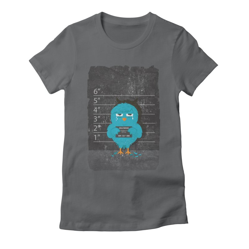 Illegal Twitter Women's Fitted T-Shirt by mitchdosdos's Shop