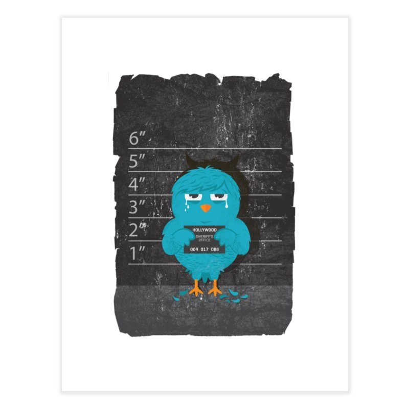 Illegal Twitter Home Fine Art Print by mitchdosdos's Shop