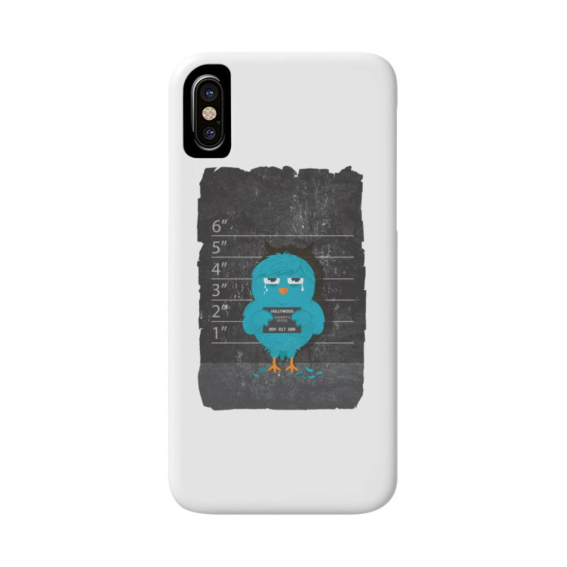 Illegal Twitter Accessories Phone Case by mitchdosdos's Shop