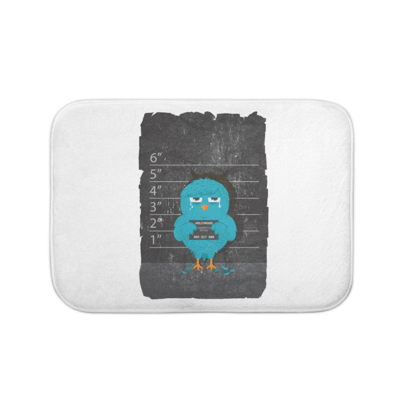 Illegal Twitter Home Bath Mat by mitchdosdos's Shop