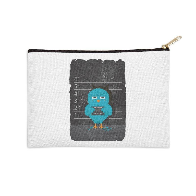 Illegal Twitter Accessories Zip Pouch by mitchdosdos's Shop