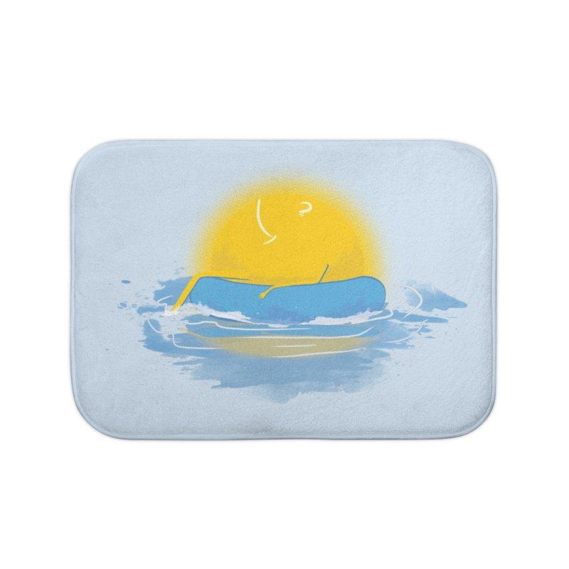 SUN Bathing Home Bath Mat by mitchdosdos's Shop