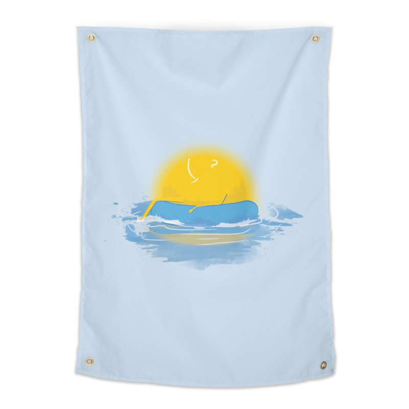SUN Bathing Home Tapestry by mitchdosdos's Shop