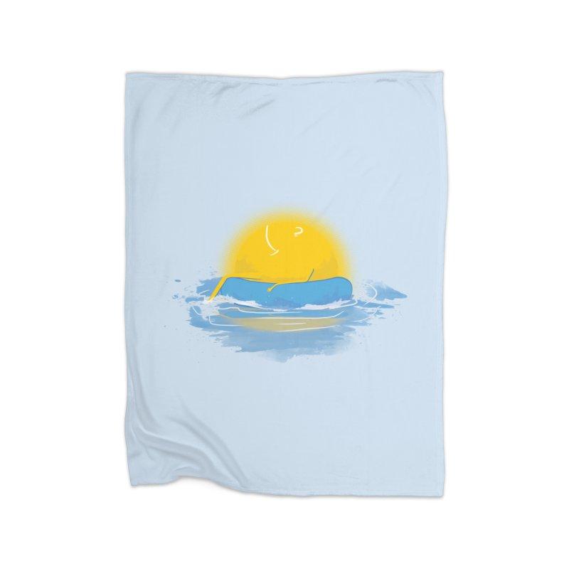 SUN Bathing Home Blanket by mitchdosdos's Shop