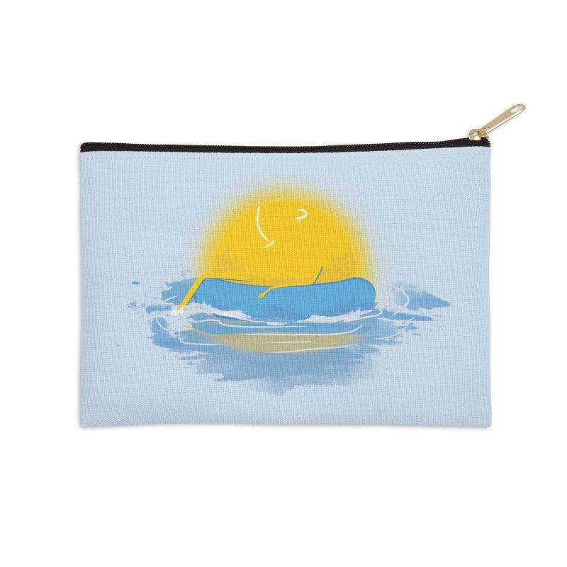 SUN Bathing Accessories Zip Pouch by mitchdosdos's Shop