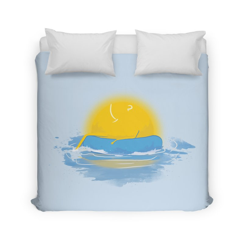 SUN Bathing Home Duvet by mitchdosdos's Shop