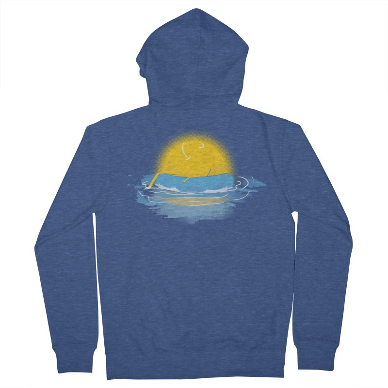 SUN Bathing Men's Zip-Up Hoody by mitchdosdos's Shop
