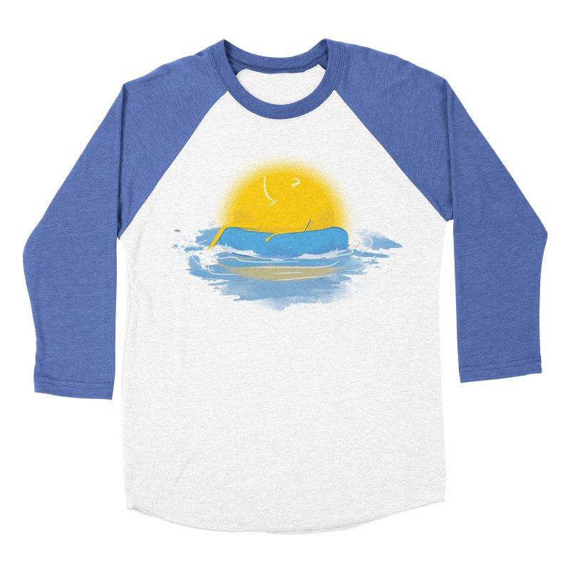 SUN Bathing Men's Baseball Triblend T-Shirt by mitchdosdos's Shop