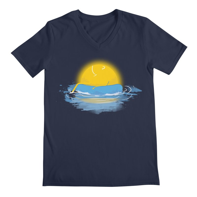 SUN Bathing Men's V-Neck by mitchdosdos's Shop