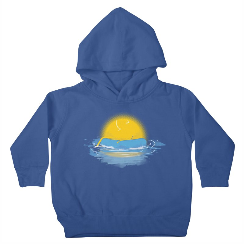 SUN Bathing Kids Toddler Pullover Hoody by mitchdosdos's Shop