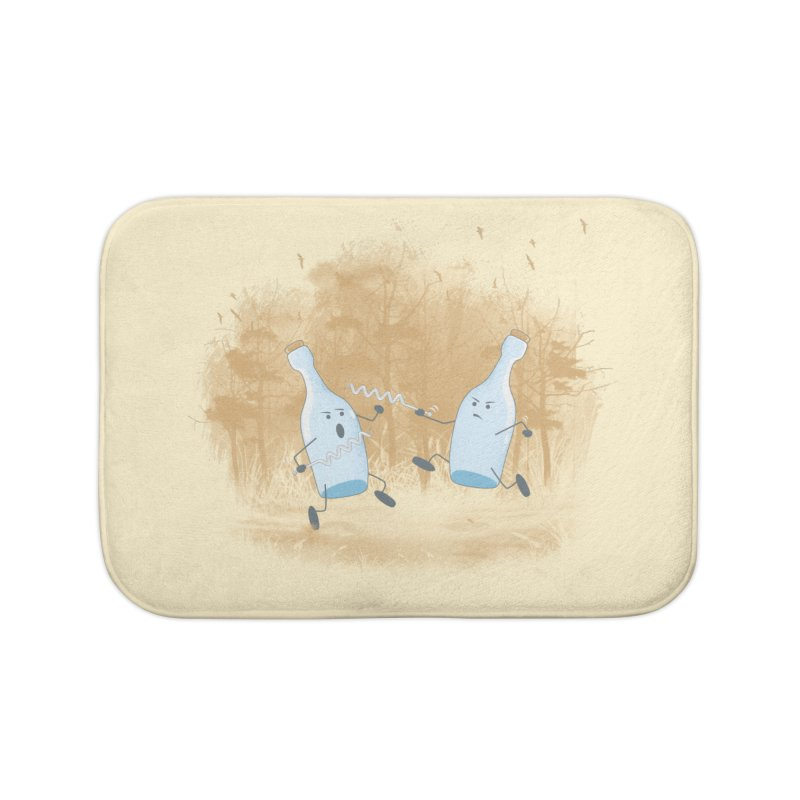 Let The BOTTLE Begin Home Bath Mat by mitchdosdos's Shop