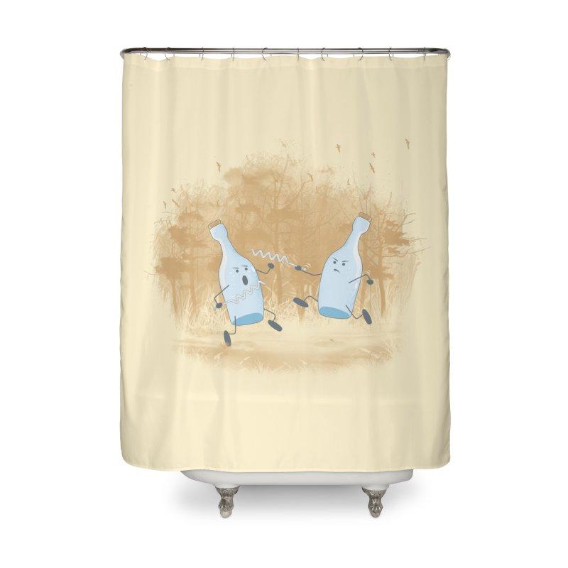 Let The BOTTLE Begin Home Shower Curtain by mitchdosdos's Shop