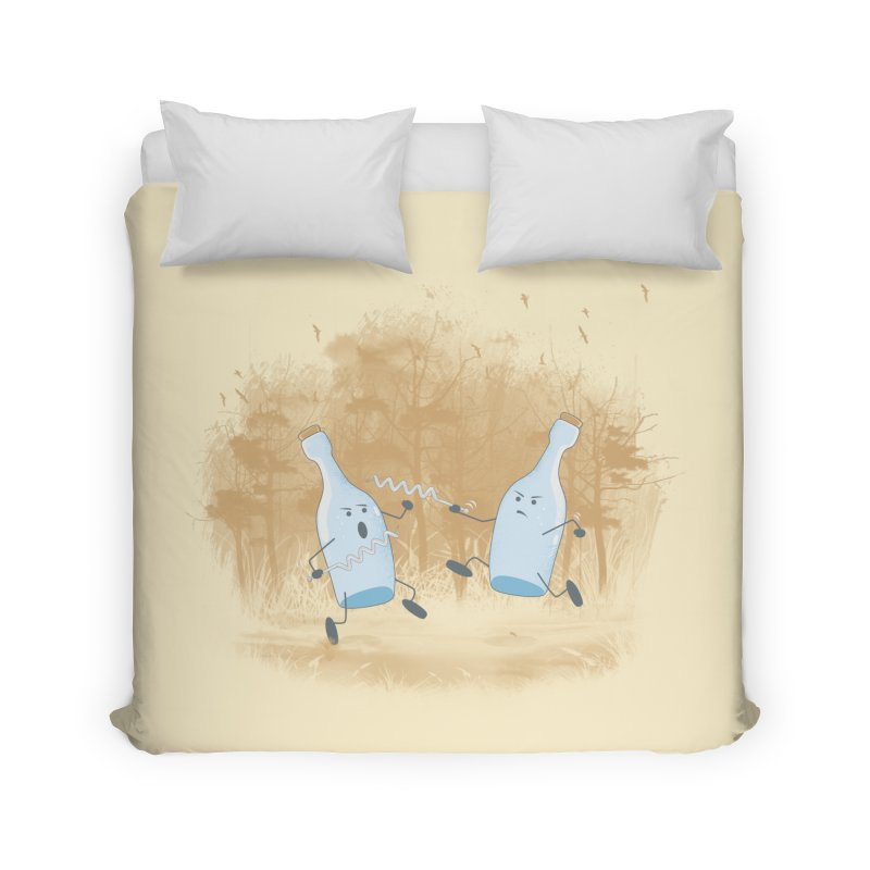 Let The BOTTLE Begin Home Duvet by mitchdosdos's Shop