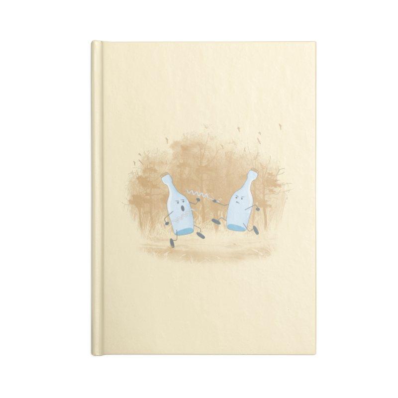 Let The BOTTLE Begin Accessories Notebook by mitchdosdos's Shop