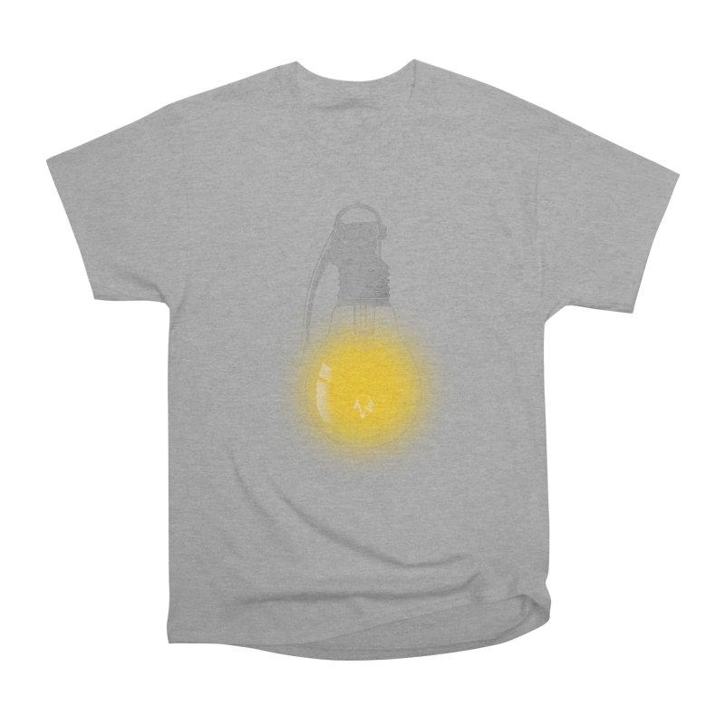 Explosive Idea Men's Heavyweight T-Shirt by mitchdosdos's Shop