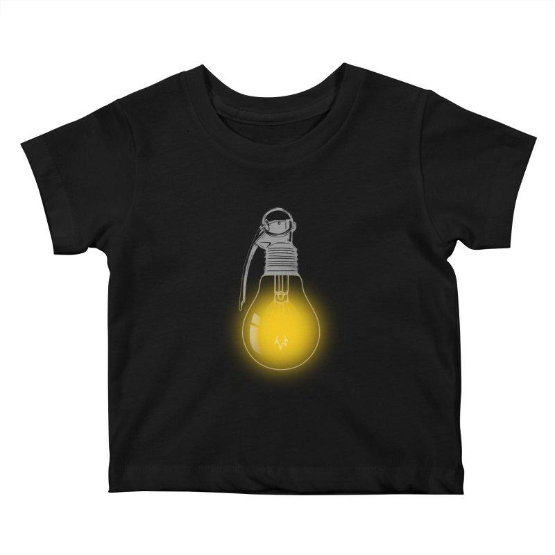 Explosive Idea Kids Baby T-Shirt by mitchdosdos's Shop